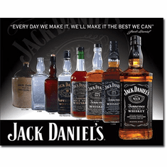 Jack Daniels - Bottles Tin Signs