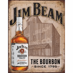 Jim Beam - Still House Tin Signs