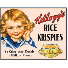 Kellogg's Rice Krispies Tin Signs