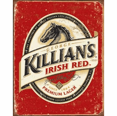 Killian's Beer Logo Tin Sign