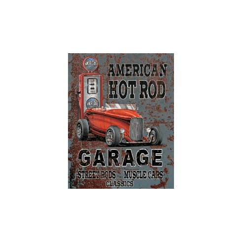 Legends - American Hot Rod Tin Signs