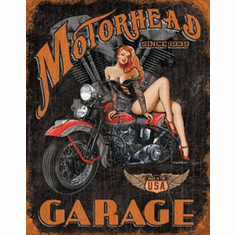 Legends - Motorhead Garage Tin Sign