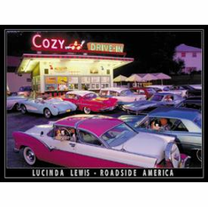 Lewis - Cozy Drive In Tin Signs