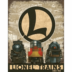 Lionel Legacy Tin Signs