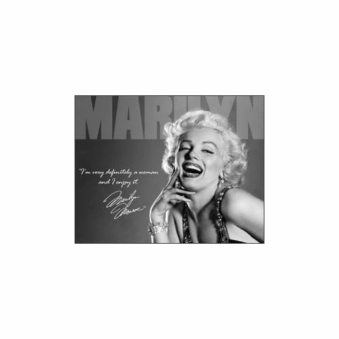 Marilyn - Definately Tin Sign