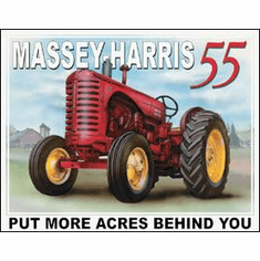 Massey Harris - 55 Tin Sign