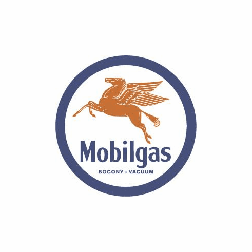 Mobilgas Pegasas Tin Sign
