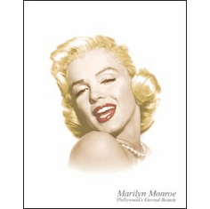 Monroe - Eternal Beauty Tin Sign