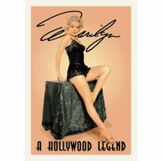 Monroe Hollywood Legend Tin Sign