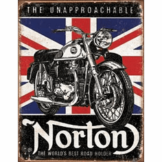 Norton - Best Roadholder Tin Signs