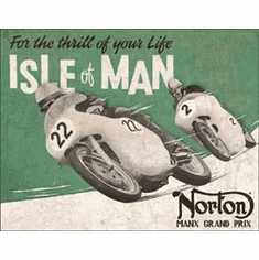 Norton - Isle of Man Tin Signs
