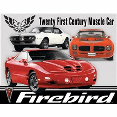 Pontiac Firebird Tribute Tin Signs