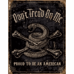 Proud American Tin Sign