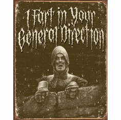 Python - In Your Direction Tin Sign