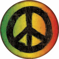 Rasta Peace Tin Signs