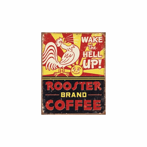 Rooster Brand Coffee Tin Signs