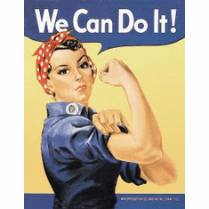 ROSIE THE RIVETOR Tin Sign