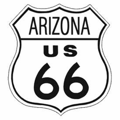Route 66 Arizona Tin Signs