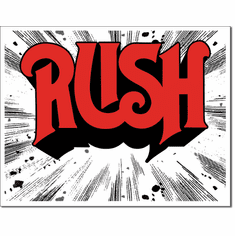 RUSH - 1974 Cover Tin Signs