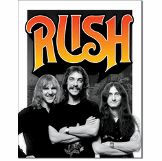 Rush - Band 70s Tin Signs