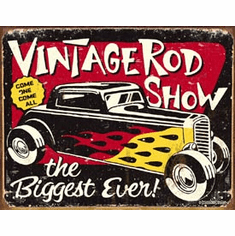 Schoenberg - Vintage Rodshow Tin Sign