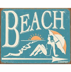 Schonberg - Beach Tin Signs