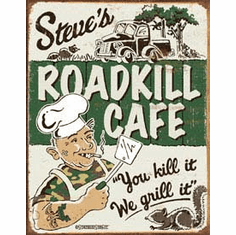 Schonberg - Steve's Cafe Tin Sign