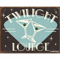 Schonberg - Twilight Lounge Tin Sign