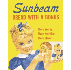 Sunbeam - Little Miss Sunbeam Tin Signs