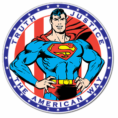 Superman - American Way Tin Signs