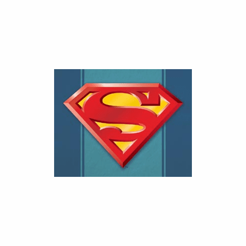 Superman Logo Tin Sign