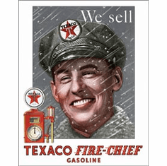 Texaco - Pump Attendant Tin Signs