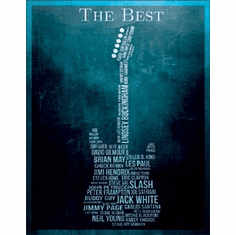 The Best - Guitarists Tin Signs