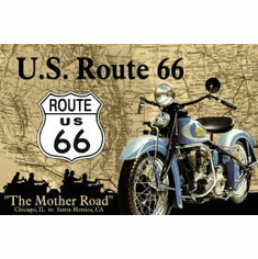 The Mother Road Tin Signs