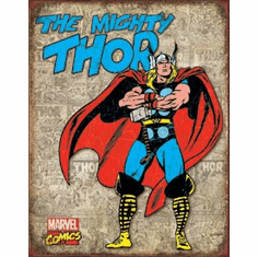 Thor Retro Cover Panels Tin Signs