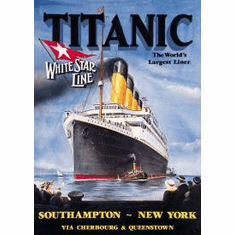 Titanic - White Star Tin Signs