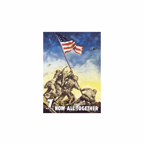 War Bonds - IWOJIMA Tin Sign