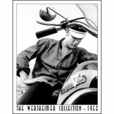 Wertheimer - Elvis on Bike Tin Sign