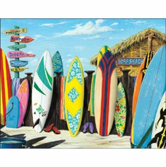 Westmoreland - Surf Shack Tin Sign