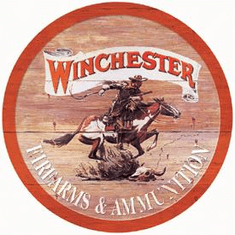 Winchester Express Tin Sign
