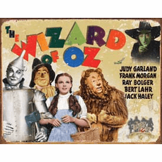 Wizard of OZ - 70th Anniv. Tin Sign