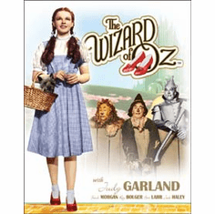 Wizard of OZ Dorothy w/ TotoTin Sign