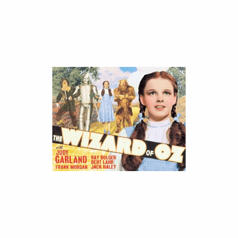 Wizard of OZ - Yellow Brick Rd. Tin Sign
