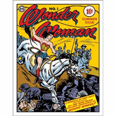 Wonder Woman - Cover No.1 Tin Signs