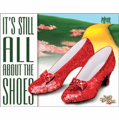 WOZ - About the Shoes Tin Signs
