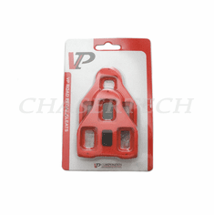 VP Road Bike LOOK Delta Compatible 9 Degree Float Pedal Cleats Red