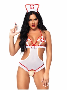 2 Pc Naughty Nurse Set