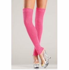 Acrylic Thigh High Leg Warmer In 7 Colors