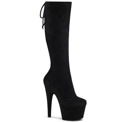 Pleaser Adore-2008 Stretch Pull-On Knee Boot