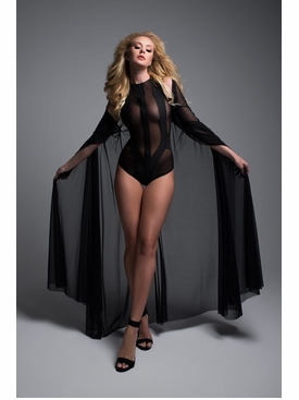 Adore A1014 Decadent Sheer Cape